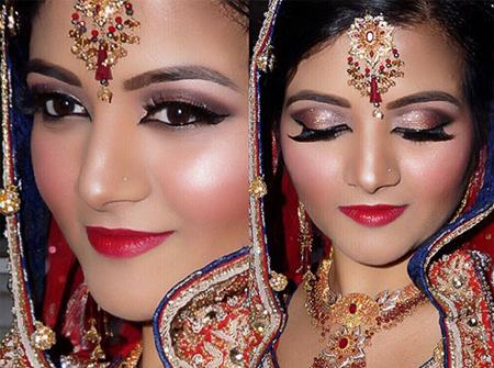 سبک آرایش هندی میکاپ شینهوا - میکاپ چیست؟ انواع سبک های میکاپ روز دنیا