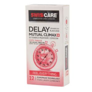 کاندوم سوئیس کر مدل Delay Mutual Climax بسته 12 عددی 300x300 - خرید لوازم آرایشی ارزان | فروشگاه اینترنتی میکاپ شینهوا ❤️